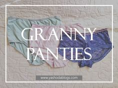 We all love comfort! Especially after giving birth! C-section or natural birth, granny panties can be your best friend! Underwear should be comfortable and not just pretty!  . . . . #yashodablogs #motherhoodoflove #mommyblogger #momswhoblog #wifemomboss #momboss #momitforward #honestmom #realmomlife #whatsuplife #toddlermommy #instamama #stopdropandmom #honestmomconfessions #lifeasamama #lifewithlittles #motherhoodunplugged #grannypanties #proudownerofgrannypanties #samomblogs