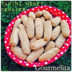 Gourmelita: Νηστίσιμα Κουλουράκια με Ταχίνι