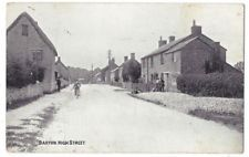MIDDLE BARTON High Street, Oxfordshire, Old Postcard by Photocrom, Unused