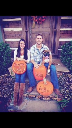 Fall Pregnancy Announcement #baby