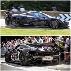 Jenson Button in the incredible McLaren P1