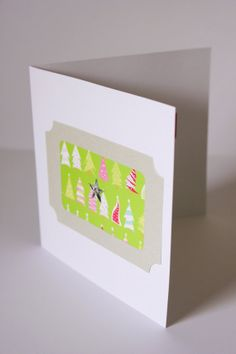 Hand made Christmas Card Set by Alittletouchofcrazy on Etsy, $10.95