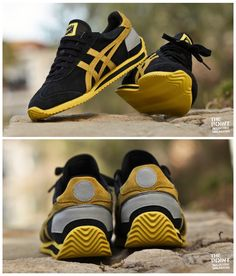 Onitsuka Tiger California 78: Black/Yellow