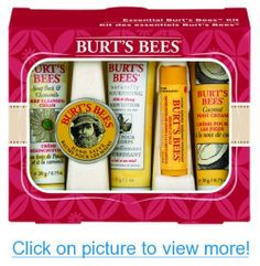 Burt's Bees Essential Burt's Bees Kit (1 Boxed Gift Set -New Holiday Packaging)