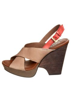 Sandalen met plateauzool - Beige Marc O Polo, Taupe, Neutral, Delicate, Wedges, How To Wear, Shoes, Fashion, Sandals