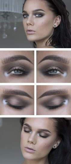 Todays look – Soft Brown smoky | Linda Hallberg | Bloglovin'
