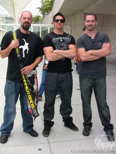 Aaron Goodwin, Nick Groff and Zak Bagans (Ghost Adventures) Hunting Shows, Ghost Shows, Ghost Adventures Zak Bagans, Ghost Hunters, Cute Celebrities, I Love Girls, Ghost Stories, Favorite Tv Shows, A Team