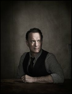 Tom Hanks - Photographed by Dan Winters.