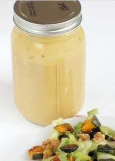 "I make this dressing ALL THE TIME, I eat it on salad, with carrot ""chips"", with celery...I love it :) Only thing I change is I use Truvia instead of maple syrup."