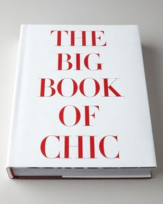 Big Book of Chic at Neiman Marcus.