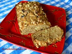 Pineapple Banana Bread With Nutty Vanilla Wafer Topping ~ The Southern Lady Cooks