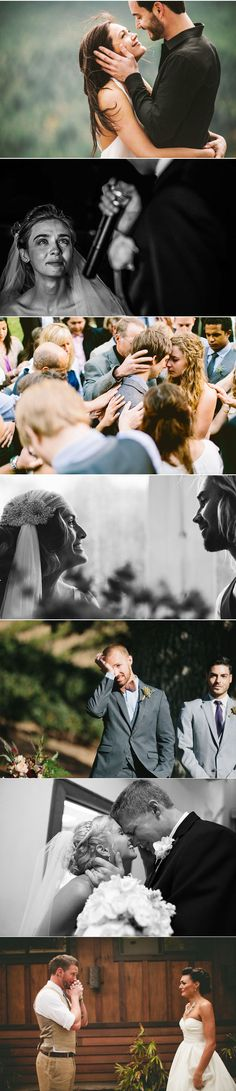most emotional candid moments of brides & grooms in real weddings