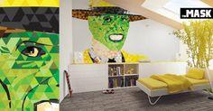 Idée déco : ces 8 stickers de films cultes pour mettre des couleurs sur vos murs