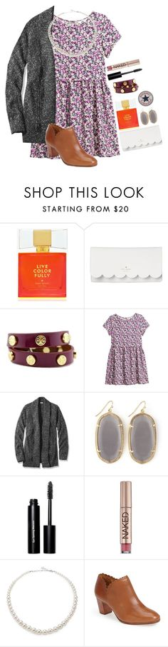 """{ EA's contest! }"" by margaretlorraine02 ❤ liked on Polyvore featuring Kate Spade, Tory Burch, H&M, L.L.Bean, Kendra Scott, Converse, Bobbi Brown Cosmetics, Urban Decay, Majorica and Jack Rogers"