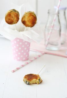 Zucchini lollipops (Note: This blog is not in English, so you'll need to translate it.)