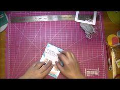 Happy Birthday Card using Heartfelt Creations Clear Cardstock - YouTube