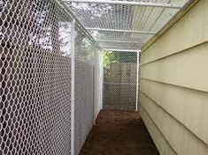 Fence Specialists - Dog and Pet Fences, Kennels, Runs, Enclosures Best Picture For Dog toilet outdoo Metal Dog Kennel, Diy Dog Kennel, Kennel Ideas, Dog Enclosures, Cat Enclosure, Portable Dog Kennels, Dog Toilet, Dog Area, Dog Rooms