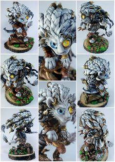 Rengar by MikaFrostwolf Videogame Art, Polymer Clay Dragon, Demons, Fashion Art, Creatures, Deviantart, Anime, Rice, Demons 2