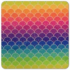 Sunrise Scales Print PUL Fabric | Diaper Sewing Supplies