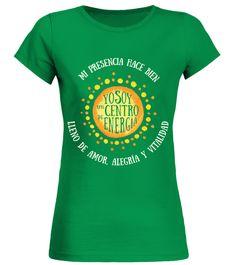 # YO SOY UN CENTRO DE ENERGÍA/ TEECONNEXUS .     YO SOY UN CENTRO DE ENERGÍACompre esta camiseta Hoy!      El mundo también necesita sus VIBRACIONES POSITIVAS      100% algodón. No lo encuentras en las tiendas!       Colección exclusiva © TEECONNEXUS   Aquí podrá admirar la colección entera:   https://www.teezily.com/stores/teeconnexus      Pago seguro a través de Paypal / Visa / Mastercard / American Express    Elija su estilo y el color aquí bajo    y haga clic en el botón verde para…