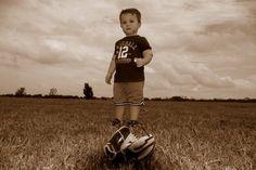mini baseball player! ;0)
