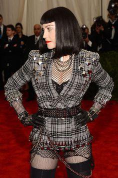 Madonna in Givenchy at Met Gala 2013