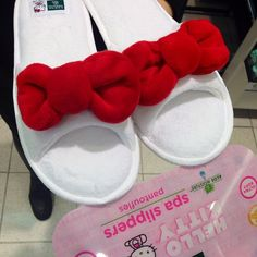 Hello Kitty slippers, available at Kohl's