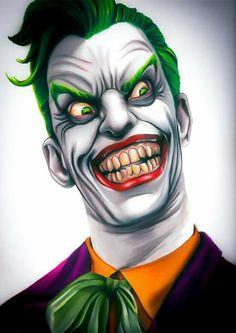 HeroChan — The Joker Created by Brent Woll Le Joker Batman, Joker Cartoon, Joker Dc Comics, Joker Art, Joker Images, Joker Pics, Comic Book Villains, Joker Drawings, Harley Quinn Comic
