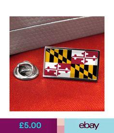 a6e1de2100bd Collectable Badges Maryland Flag Lapel Pin Badge / Tie Pin #ebay # Collectibles