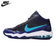 hot sale online b3eab 4b4e2 Original NIKE Men s Breathable Sport Basketball Shoes Sneakers   Price   US   87.78  amp