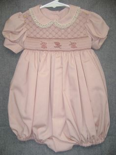 Size18 months to 2 Smocked bubble