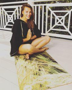 Getting our Zen on! #anymatic#yogamatic#printedyogamat#custom