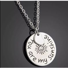 You are my sunshine necklace(NWT)5 left! Brand new in package Jewelry Necklaces