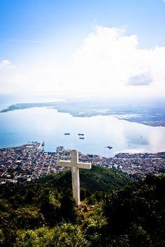La Croix.  On the mountain above Cap Haitien, Haiti