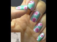 VIDEO TUTORIAL: PASTEL TIE DYE NAILS - The Trendy Nail | Nail Blog