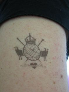 Knit Nation Tattoo by Susan from Athens, via Flickr
