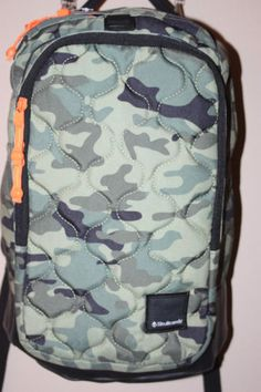 7e8f9a9c35f Skullcandy backpack green camo camouflage book bag  New  computer holder