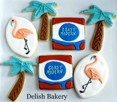Coast Modern Cookies #CoMo #myfaves -- #LukeAtlas #ColemanTrapp #cookies #bandcookies New Bands, Treat Yourself, Delish, Bakery, Coast, Treats, Cookies, My Favorite Things, Modern
