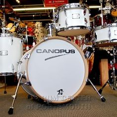 "The NEW YAIBA models have inherited the great Canopus sound and have also specialized and refined the concept of the original YAIBA - but they sit in a much more affordable price range. This is a ""dream come true"" for those drummers who have always wanted to easily have the Canopus sound."
