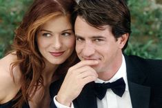 "Film: Debra Messing and Dermot Mulroney in ""The Wedding Date"" (2005)"
