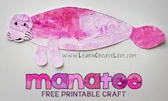 manatee crafts for preschoolers - Google Search
