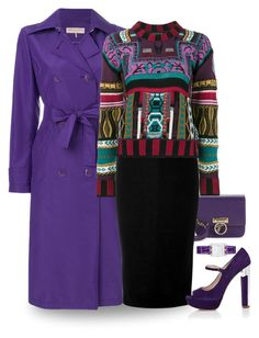 """""""Violet"""" by terry-tlc ❤ liked on Polyvore featuring Emilio Pucci, Versace, Victoria Beckham, Miu Miu, Etro, Hermès, fashionset, polyvoreeditorial and polyvorefashion"""