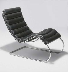 Another classic. Mr Lounge Chair by Ludwig Mies van der Rohe.