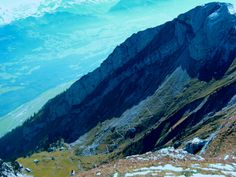 The Footpath to the Top of Pilatus