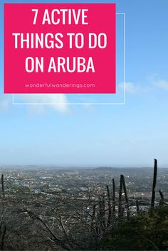 Looking for active things to do on Aruba during your vacation? I've got you covered with beach activities like snorkeling and tips for more fun stuff! Click to read more or pin and save for later.
