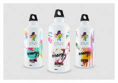 Plus Energy Drink (Concept) on Packaging of the World - Creative Package Design Gallery
