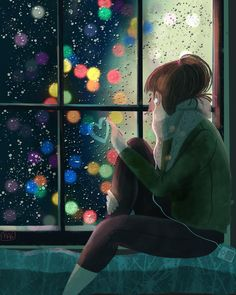 I made the most beautiful drawings on tarnished windows on rainy days! illustration kidlitart childrenillustration drawing artwork how to draw how to draw how to draw how to draw draw drawingtips drawings illustrations Art Anime Fille, Anime Art Girl, Rainy Day Drawing, Art Mignon, Girly Drawings, Illustration Art, Illustrations, Beautiful Drawings, Aesthetic Art
