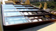 Resultado de imagen de techos para terrazas aticos