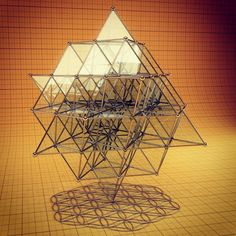 """@resonanceproject's photo: """"The Flower of Life and the 64 Tetrahedron grid: the mother and father of the geometry of space... (this flower of life is shown in """"2D"""" and is actually a """"3D"""" shape like the 64 tetrahedron grid above it)"""""""
