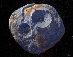 Space mining. NASA Is fast-tracking plans to explore a metal asteroid worth $10,000 quadrillion, many times more than global economy